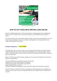 lance writing jobs from home how to hire and work lance  how to get lance writing jobs online writingjobincome how to get lance writing jobs online writingjobincome