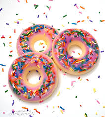 quick and easy donut soap in 10 minutes
