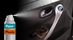 how to paint plastic with spray painting car interior trim