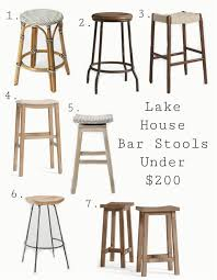 diy bar height chairs best lake house bar stools crafts diy tutorials