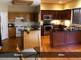 how to stain kitchen cabinets darker without sanding trekkerboy