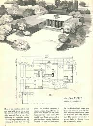 exquisite mid century modern house plans courtyard 58 best home images on vintage homes