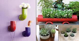 16 unimaginable diy pvc pipe planters to create a pvc garden