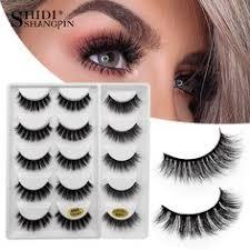 <b>SHIDISHANGPIN</b> 5 pairs <b>eyelashes</b> natural long <b>mink eyelashes</b> ...