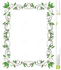 Border Design Element Green 3 Stock Illustration Illustration Of