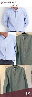 Bnwt Gap Oxford Mens Shirt Bnwt Mens Green Oxford Shirt