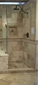 Bathroom Remodeling Columbia Md Mesmerizing Stone Tile WalkIn Shower Design Kenwood Kitchens In Columbia