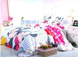 mickey mouse bedding set twin girl cotton single full queen dot doona clubhouse