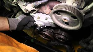how to install a water pump jeep 4 0l 6 cyl wp 853 aw7136