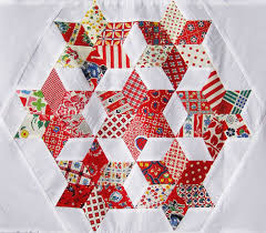 Love! - parallelogram quilt block (six-pointed stars) | Scrap ... & parallelogram quilt block (six-pointed stars) Adamdwight.com