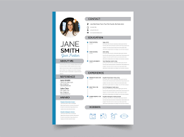 Free Resume Templete Free Modern Flat Resume Template By Julian Ma On Dribbble