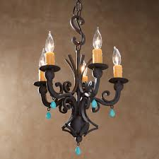 kitchen extraordinary turquoise chandelier light 21 hand forged iron 6 attractive turquoise chandelier light 12 bead