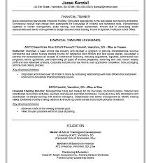 Fitness Instructor Resume Cool It Trainer Resume Sample Technical Fitness Instructor Cv