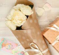 «Крафт <b>бумага для упаковки подарков</b>» — Подарочная ...