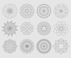 Pictures Of Line Designs Mandala Line Designs Vector Art Graphics Freevector Com