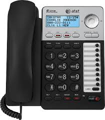 at t at ml17929 corded phone with