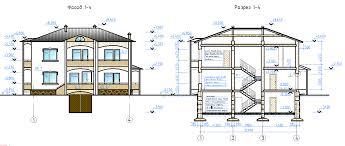 Курсовые и Дипломные проекты коттеджей Чертежи и проекты  Курсовой проект по архитектуре на тему Индивидуальный жилой дом с гаражом
