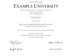 Fake Diploma Template Free Fake Bachelor Degree Template