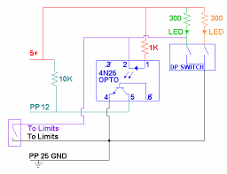 limit switches cnc plans limit switch opto coupler schematic
