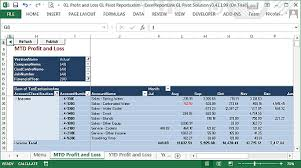 Create Any Report In Excel To Analyse Your Myob Data Quickly And For