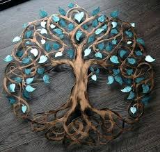 metal tree of life wall hanging teal sparkle tree of life infinity tree wall decor wall  on brown metal tree wall art with metal tree of life wall hanging close up of tree of life wall decor