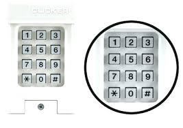 reprogram garage door keypad change garage door opener code how do i change the code on