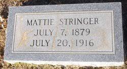"""Martha """"Mattie"""" Stringer (1879-1916) - Find A Grave Memorial"""