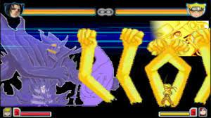 All Sasuke Forms vs All Naruto Forms   Bleach vs Naruto 2.5