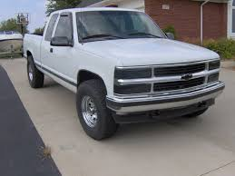white chevy trucks 1995. Interesting 1995 Kdmchevy 1995 Chevrolet Silverado 1500 Regular Cab Throughout White Chevy Trucks O