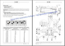 global epc automotive software renault magnum workshop service renault truck fault codes list at Renault Midlum Wiring Diagram