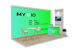 Photo Booth Design Modern Elegant Environment Trade Show Booth Design For A
