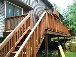 image of outdoor stair railing kit ideas