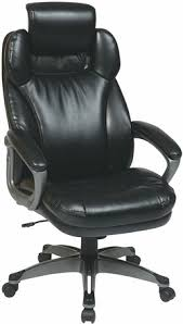 chair with headrest. work smart eco leather office chair with headrest [ech85807] e