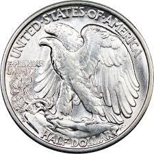 1935 Silver Half Dollar Value Chart 1935 D 50c Ms Walking Liberty Half Dollars Ngc