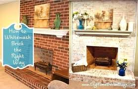 whitewashed brick before and after fireplace before and after white painted brick fireplace before and after painting brick fireplaces how to whitewash red