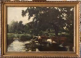 robert noble rsa antique oil painting scottish landscape 1 of 6