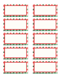 Free Christmas Mailing Labels Template Free Christmas Mailing Labels Template Complete Guide Example 1