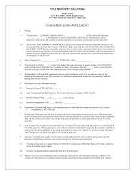 10 Best Images Of Simple Loan Agreement Letter Simple Business