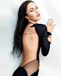Pin By Bruce On Megan Fox In 2019 Megan Fox Tattoo Megan Fox Hd
