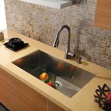 vigo 30 undermount stainless steel 16 gauge single bowl kitchen sink com