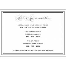 Hotel Accommodations Cards Ellis Andrew Hotel Accommodations Card