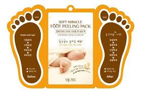 <b>Маска</b>-<b>пилинг для ног MJ</b> Care Soft Miracle Foot Peeling Pack 2*15мл
