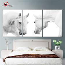 Living Room Wall Art Online Get Cheap Horses Wall Art Aliexpresscom Alibaba Group