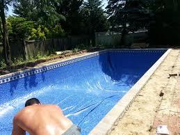 diy inground pool with liner round designs