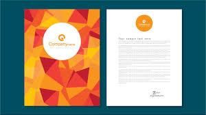 Graphic Designer Letterhead Examples Illustrator Tutorial Letterhead Design Template