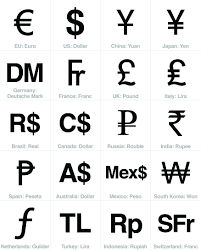 Free Currency Sign Download Top 20 Economies Teaching Currency