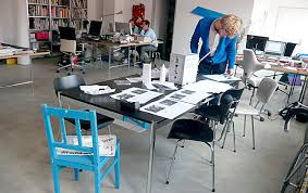 Graphic designers office House The Way They Work Fosters Strong Sense Of Belonging To The Studio Among The Graphic Designers That Work There Eames Office Node Berlin Oslo About