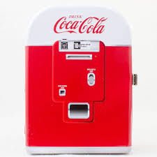Coca Cola Vending Machine Radio Simple CocaCola Vending Machine Miniature 48's Ver Cooler Box Type FM