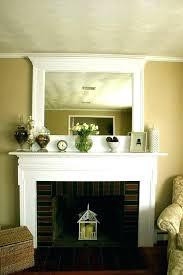 mirrors over fireplace mantels copysumo com