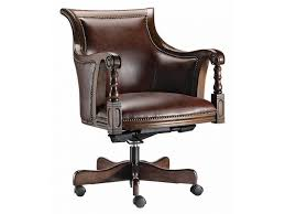 office chair materials. Furniture:Fancy Classic Brown Office Chairs Furniture With Wooden Swivel Legs On Wheels Also Black Chair Materials